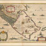Античная карта Магелланова пролива-Огненная Земля-Патагония