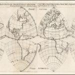 Необычная проекция карты мира XVII Века