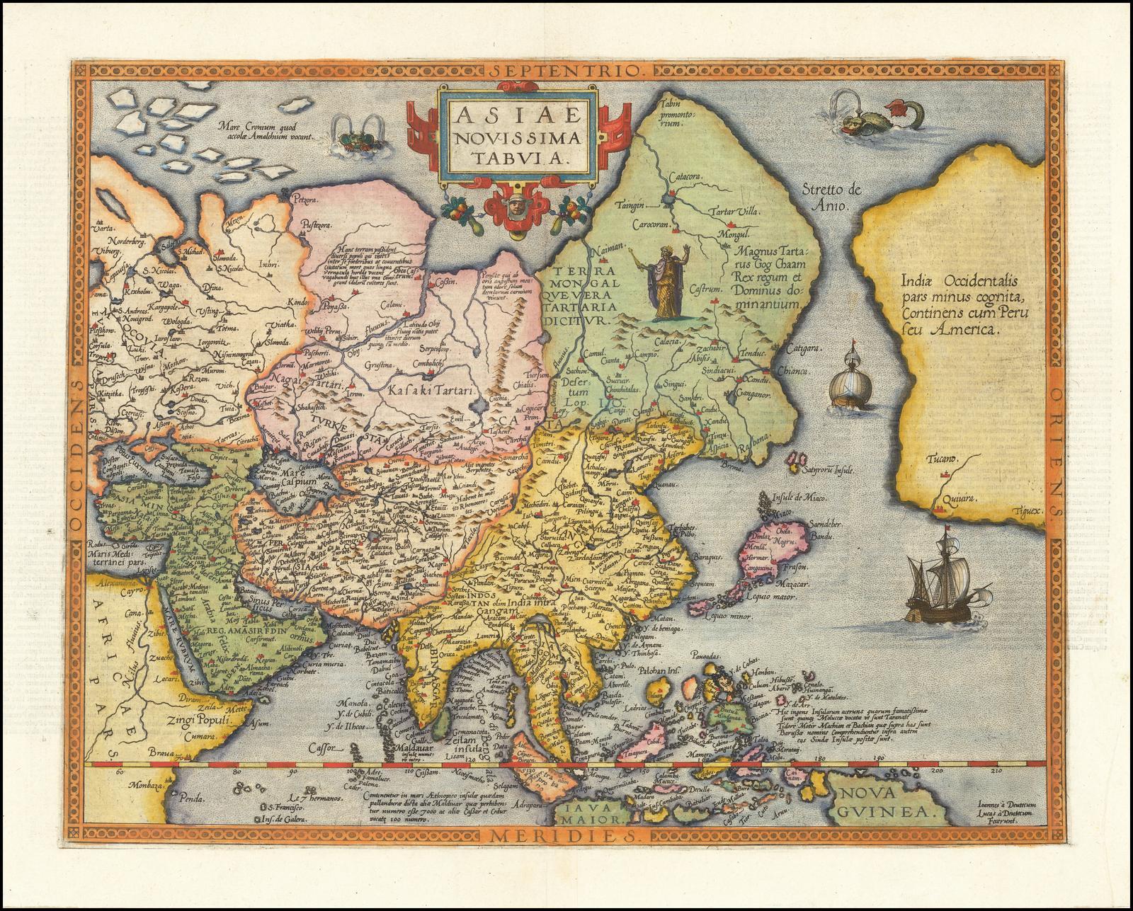 Одна из самых ранних карт, показывающих Филиппины