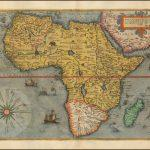 Первая карта Африки Жерара де Жода, из издания Speculum Orbis Terrarum 1578 года
