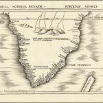 Первая современная карта Южной Африки