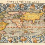 Первое издание Мюнстерской карты мира, одной из самых известных карт мира 16-го века