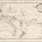 Редкая карта Австралии, составленная фон Рейли в 1795 году