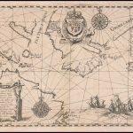 Редкие полярные карты де Бри, сделанные в 1613 году - последняя морская карта Генри Гудзона