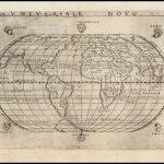 Самая ранняя доступная итальянская карта мира, показывающая континент Америка, созданная главным итальянским картографом XVI века