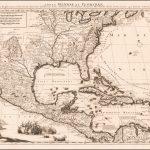 Старинная карта будущих Соединенных Штатов и испанского Мейна