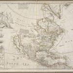 """Крупноформатная карта Северной Америки и Вест-Индии в народе известна как """"Карта трески"""" из-за ее украшения большой гравировкой рыбаков, ловящих и сушащих треску вдоль берегов Ньюфаундленда"""