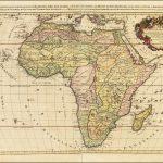 Поразительная карта африканского континента, составленная французским картографом Алексисом-Хьюбертом Джайло