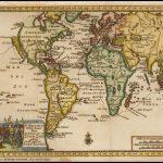 Поразительная карта мира 1706 года, иллюстрирующая кругосветное плавание сэра Фрэнсиса Дрейка