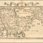Редкая карта Аравийского полуострова и его окрестностей 1525 года