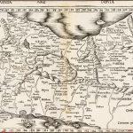 Важная ранняя карта Персии, Армении и региона между Каспийским морем и Персидским заливом Мартина Вальдзимюллера