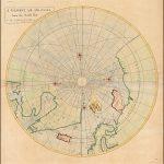 карта северных полярных областей, опубликованная ведущими британскими учеными, в том числе Эдмундом Галлеем, Джоном Сенексом и Джоном Харрисом