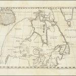 Старая карта, иллюстрирующая полемику вокруг Северо-Западного прохода